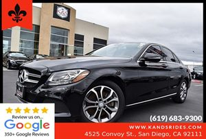 View 2016 Mercedes-Benz C 300 sedan*1 OWNER CARFAX*Bluetooth*Leather