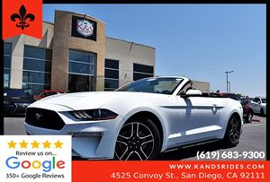 View 2018 Ford Mustang EcoBoost Premium Convertible*Leather Seats