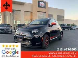 View 2016 FIAT 500e FWD*Navigation Sys*Parking Sensors*1 Owner*