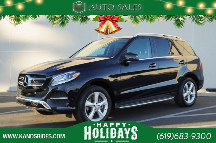 2016 Mercedes-Benz GLE 350 | Sunroof, Heated Seats, Blind-spot Monitor, Bluetooth, Back-up Cam, Keyless Ignition