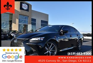 View 2016 Lexus GS 350 F Sport Pkg*Blind Spot Alert*Back Up Cam*