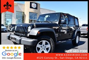 View 2017 Jeep Wrangler Unlimited Sport**4x4*Soft Top*Step Side