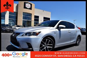 View 2016 Lexus CT 200h F Sport w/NULUXE Int BackUp Cam Bluetooth