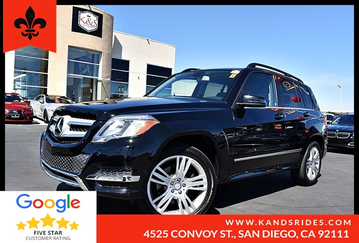 2014 Mercedes-Benz GLK 350 Bluetooth Wood Grain Trim Multi Zone A/C Pwr Seats Turn Signal Mirrors