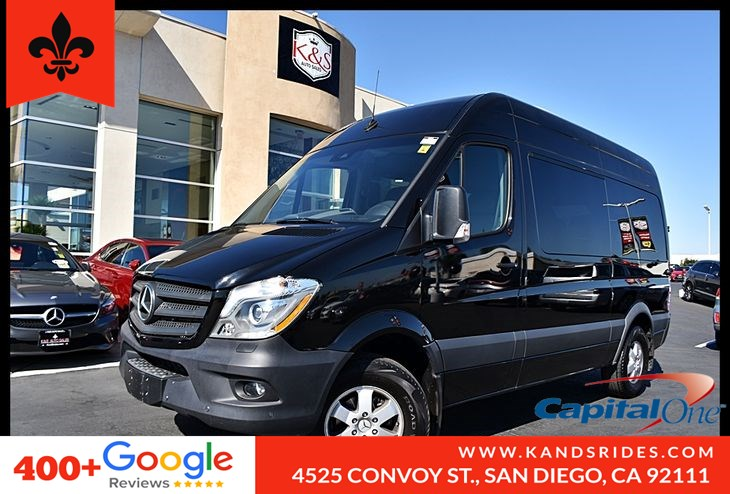"2017 Mercedes-Benz Sprinter 12 Passenger Vans 2500 144"" BSM Navi Sys 3 Row Seat Collision Prev Assist"