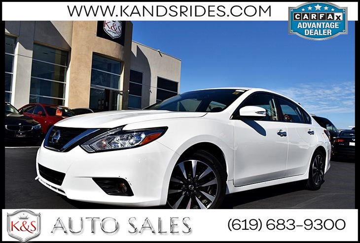 2018 Nissan Altima 2.5 SL*Bluetooth*Pwr Seats*Heated Seats* Rear Cam*XM Radio*Black Seats*SL Pkg*Aux Input*
