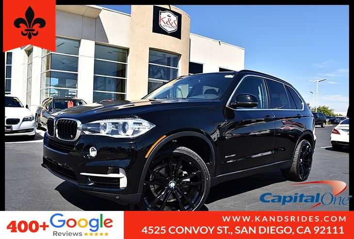 2016 BMW X5 sDrive35i Panoroof HI-FI Prem Sound Premium Pkg BackUp Cam Leather Seats 1 Owner Carfax Prem Snd