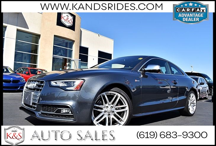 2015 Audi S5 Prestige Pkg*Navigation Sys*Moonroof*Backup Cam *Keyless Start*S-Line Pkg*BANG & OLUFSEN Sound Sys