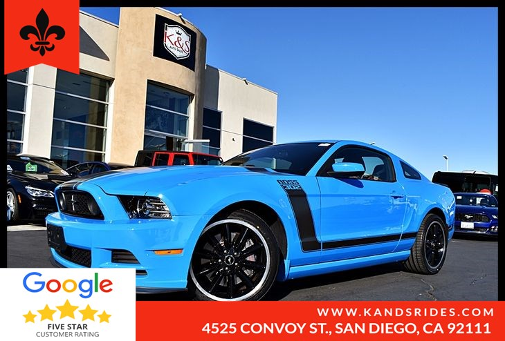 2013 Ford Mustang Boss 302 6 Speed Manual Group Pkg 500A Boos Interior Pkg Sync  LCD Screen