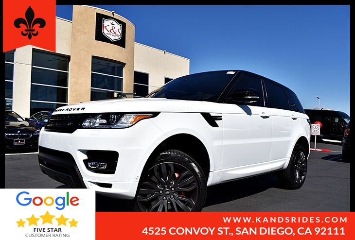 2017 Land Rover Range Rover Sport HSE Dynamic Panoramic Roof, Navi, Leather, Camera