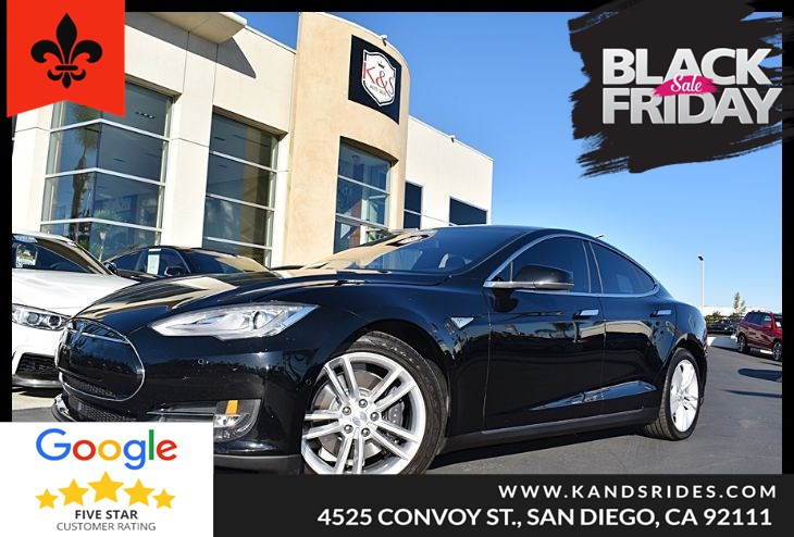 2015 Tesla Model S 70 Navigation Sys BackUp Cam Autopilot Leather Seats Blind Spot Alert Xenon Headlamps