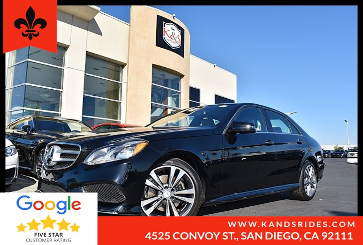 2016 Mercedes-Benz E 350 Sedan BackUp Cam Heated Fnt Seats Navigation Sys Keyless GO Sunroof Pwr Pkg Bluetooth Aux Input