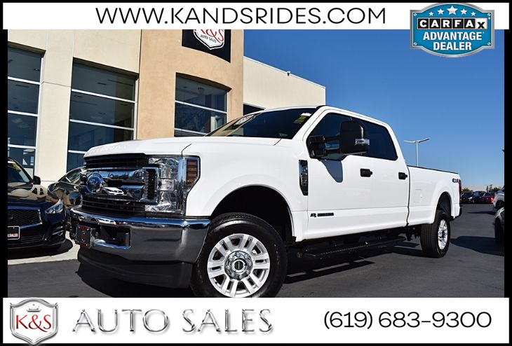 2019 Ford Super Duty F-250 CREW CAB XLT DIESEL*4WD*1 Owner* BackUp Cam*Running Boards*Bluetooth*Tow Pkg*
