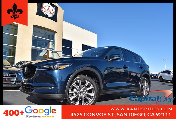 2019 Mazda CX-5 Grand Touring*AWD*Moonroof*Navigation Sys* BSM*BackUp Cam*Lane Departure Wrn*BOSE Prem Sound*