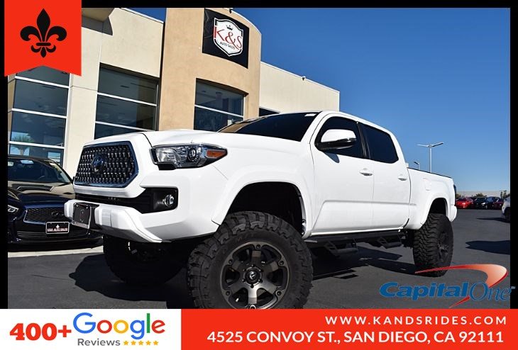 2019 Toyota Tacoma *LIFTED*OFF Road Tires* Sport *BackUp Cam*Navigation*Bedliner*1 Owner*