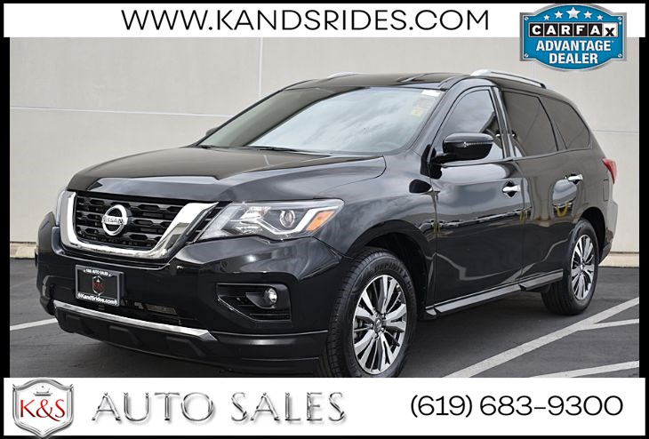 2019 Nissan Pathfinder Sv* 4WD*3 Rd Row Seating*Bluetooth Adaptive Cruise Control*BSM*Keyless Start*CTA*