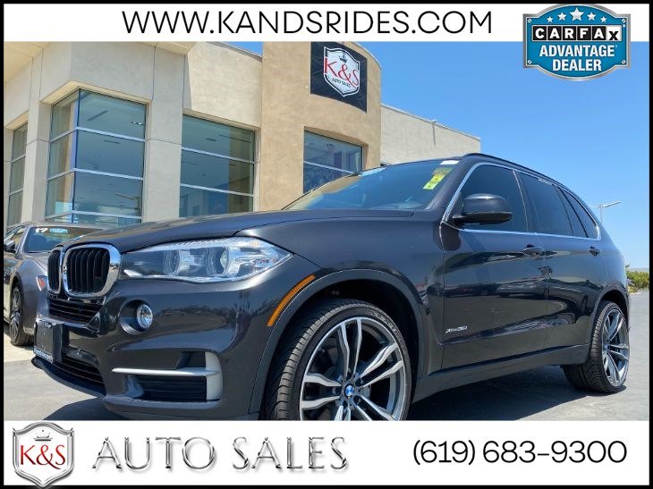 2015 BMW X5 xDrive35i | *One Owner*, Pano Roof, Heated Seats, Navigation, HID Headlamps, Wi-Fi, AWD