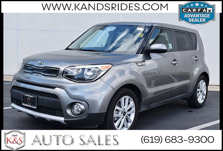 2019 Kia Soul+*Apple Carplay*Voice Recognition Tech*Cloth Seats*Fob Controls*USB*Bluetooth*Cruise Control