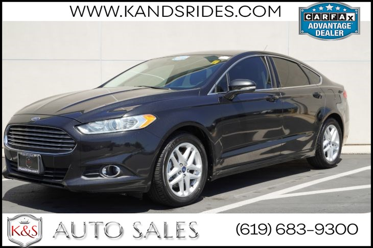 2014 Ford Fusion SE Luxury Pkg Heated Front Seats Keyless Entry MYKEY Sirius Sat Hill Start Assist Sync