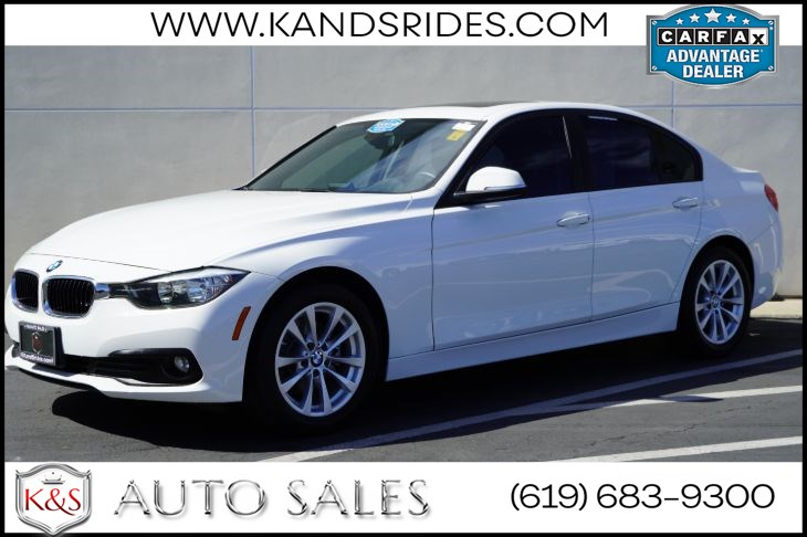 2017 BMW 320i | Bluetooth, Sunroof, Power Front Seats w/ Driver Mem, Back-up Cam, Keyless Ignition