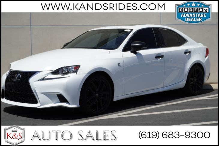 2015 Lexus IS 250 F Sport Crafted Line | Blind Spot Alert, Navigation, Back-up Cam, Sunroof, Bluetooth