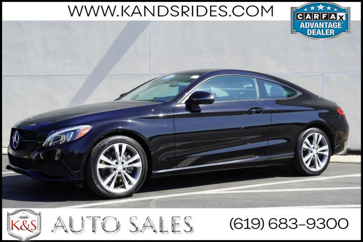 2017 Mercedes-Benz C 300 Coupe | Pano Roof, Heated Front Seats, Back- up Camera, Bluetooth, Keyless Ignition