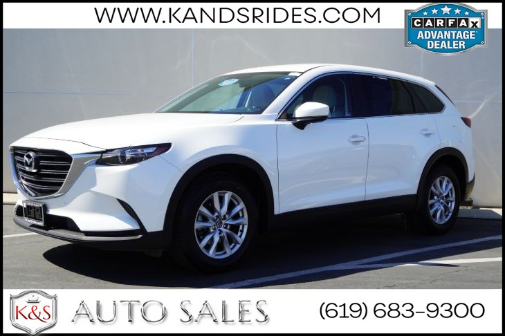 2016 Mazda CX-9 Sport | *One Owner*, Heated Seats, Bluetooth, Keyless Ignition, Back-up Cam, 3rd Row Seating