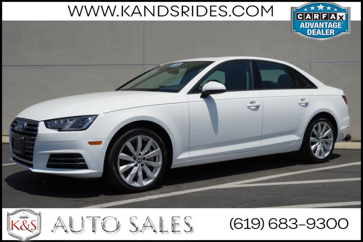 2017 Audi A4 Premium | *One Owner*, Sunroof, Heated Seats, Bluetooth, Back-up Cam, Keyless Entry/Ignition