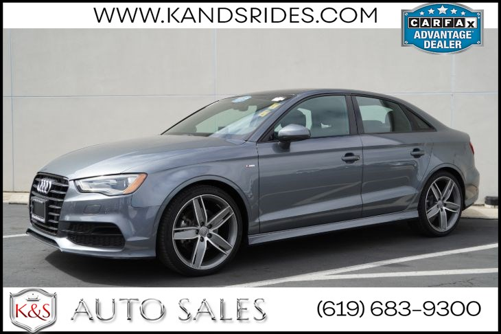 2016 Audi A3 1.8T Premium | *One Owner*, Style Pkg, Pano Roof, Back-up Cam, HID Headlamps, Bluetooth