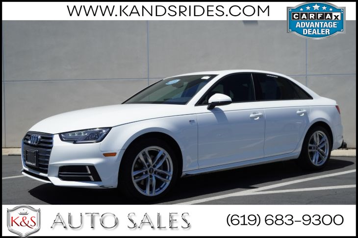 2017 Audi A4 ultra Season of Audi Selection | *One Owner*, S Line Pkg, Sunroof, Heated Seats, Bluetooth
