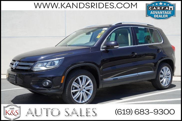 2016 Volkswagen Tiguan SE | *One Owner*, Pano Roof, Heated Seats, Back-up Cam, Adaptive HID Headlamps