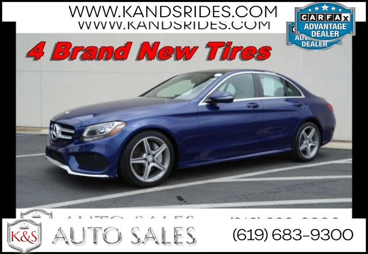 2017 Mercedes-Benz C 300 | AMG Styling Pkg, Pano Roof, Bluetooth, Back-up Cam, Keyless Ignition