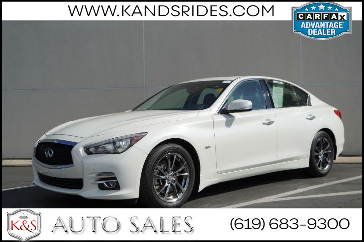 2017 INFINITI Q50 3.0t Signature Edition | *One Owner*, Sunroof, Bluetooth, Back-up Cam, Keyless Entry/Ignition