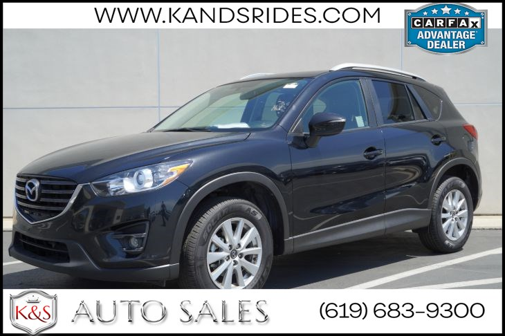 2016 Mazda CX-5 Touring | *One Owner*, Sunroof, Blind-Spot Monitor, Heated Seats, Bluetooth, Keyless Ignition