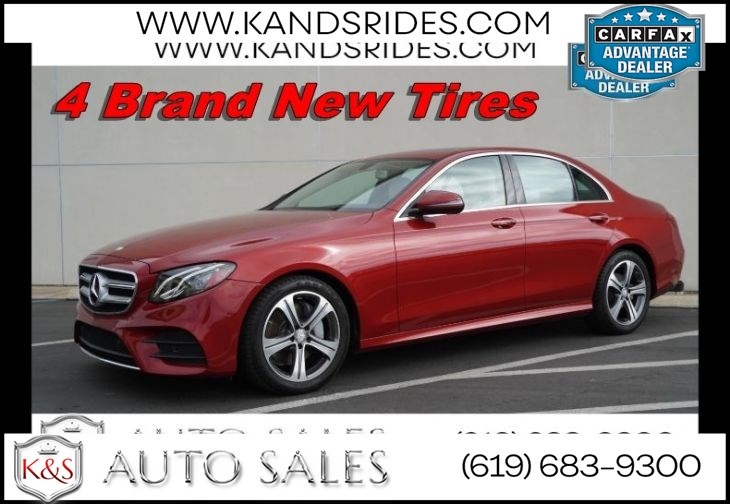 2017 Mercedes-Benz E 300 | *One Owner*, AMG Styling Pkg, Sunroof, Blind-spot Monitor, Heated Seats, Navigation