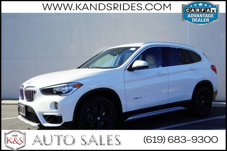 2018 BMW X1 sDrive28i | Heated Seats, Bluetooth, Back-up Cam, Keyless Ignition, Power Liftgate