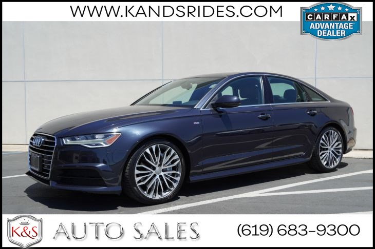2017 Audi A6 2.0T Season of Audi Selection | *One Owner*, Sunroof, Heated Seats, Bluetooth, Back-up Cam