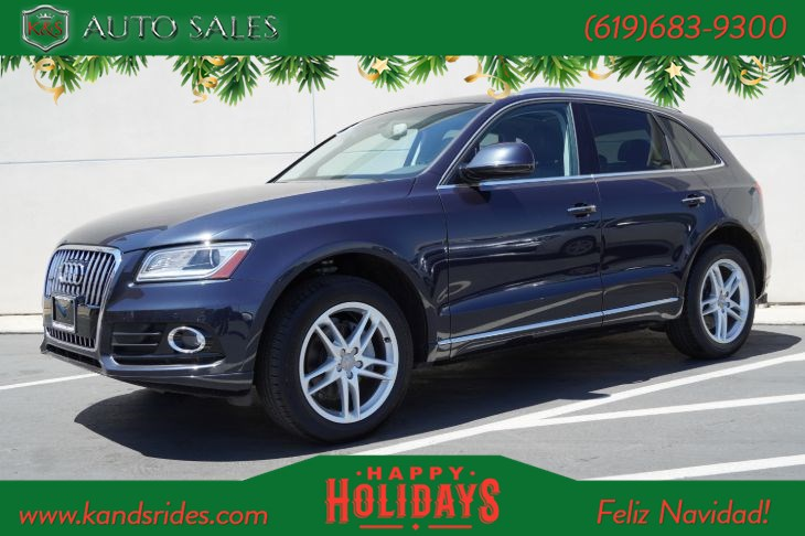 2017 Audi Q5 2.0T Premium Plus quattro | AWD, Pano Roof, Heated Seats, Blind-spot Monitor, Back-up Cam