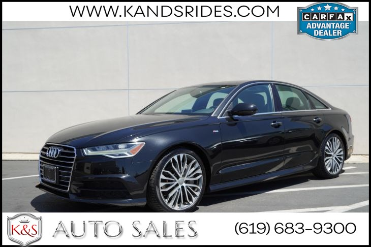 2017 Audi A6 2.0T Season of Audi Selection quattro | *One Sunroof, Heated Seats, Bluetooth, Back-up Cam