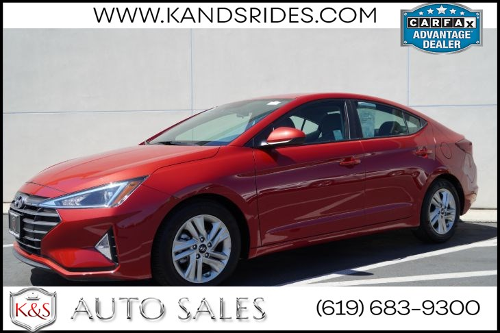 2020 Hyundai Elantra SEL | *One Owner*, Blind-spot Monitor, Bluetooth, Back-up Cam, Android Auto, CarPlay