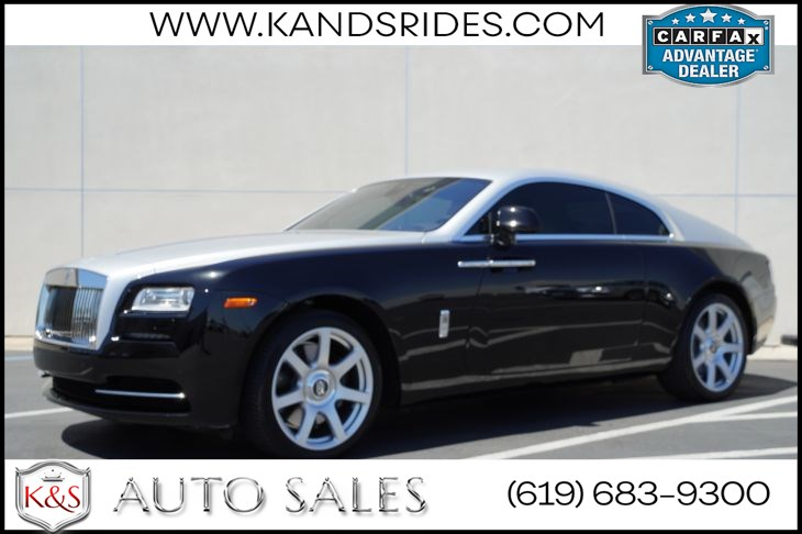 2015 Rolls-Royce Wraith | *One Owner*, Heated/Ventilated/Massing Seats, Starlight Headliner, HUD, Lane Assist