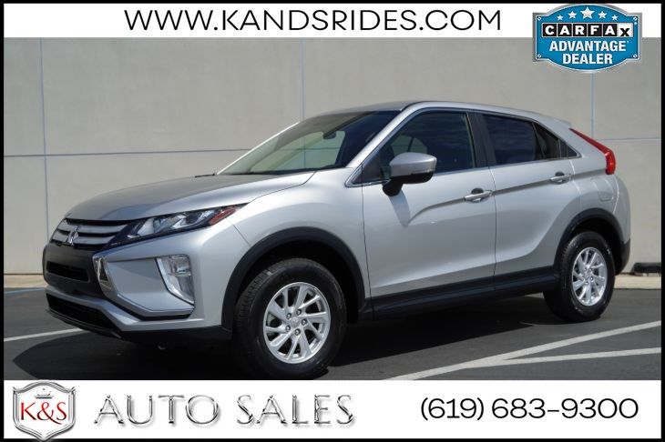 2019 Mitsubishi Eclipse Cross ES S-AWC | *One Owner*, AWD, Bluetooth, Back-up Cam, Automatic Climate Ctrl