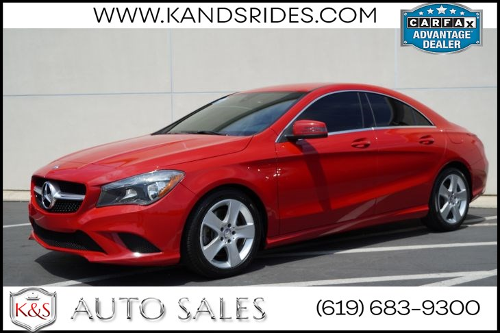 2015 Mercedes-Benz CLA 250 | Bluetooth, Keyless Ignition, Dual-zone Automatic Climate Control, Tinted Windows