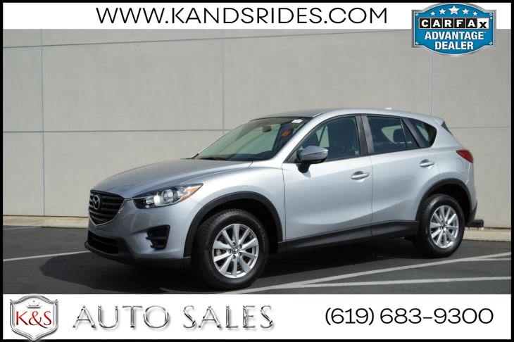 2016 Mazda CX-5 Sport | *One Owner*, Bluetooth, Back-up Cam, Keyless Ignition, 33mpg Hwy