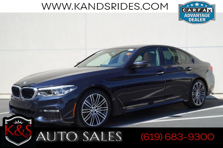 2018 BMW 530i | M Sport Pkg, Sunroof, Heated Seats, Blind-spot Monitor, Back-up Cam, HUD, Navigation