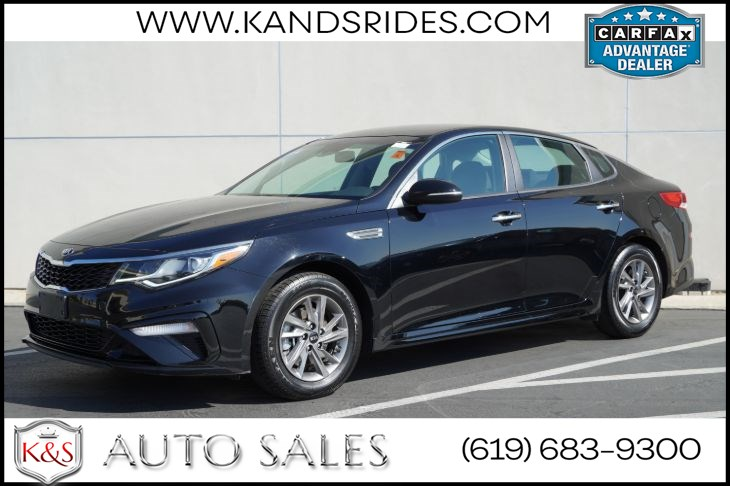 2019 Kia Optima LX | *One Owner*, Blind-spot Monitor, Lane-keeping Assist, Bluetooth, Back-up Cam