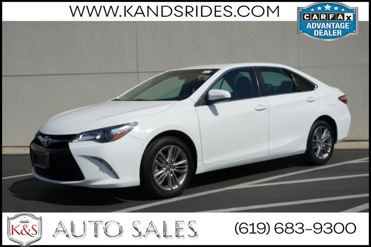 2017 Toyota Camry SE | *One Owner*, Bluetooth, Back-up Cam, Power Accessories, Air Con, Fabric/SofTex Interior