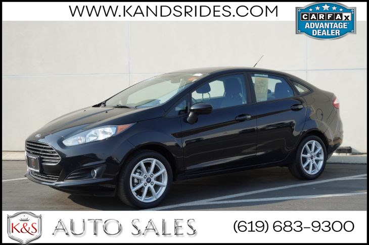 2019 Ford Fiesta SE | *One Owner*, Bluetooth, Back-up Cam, MyKey, Air Con, Cruise Ctrl, 37mpg Hwy