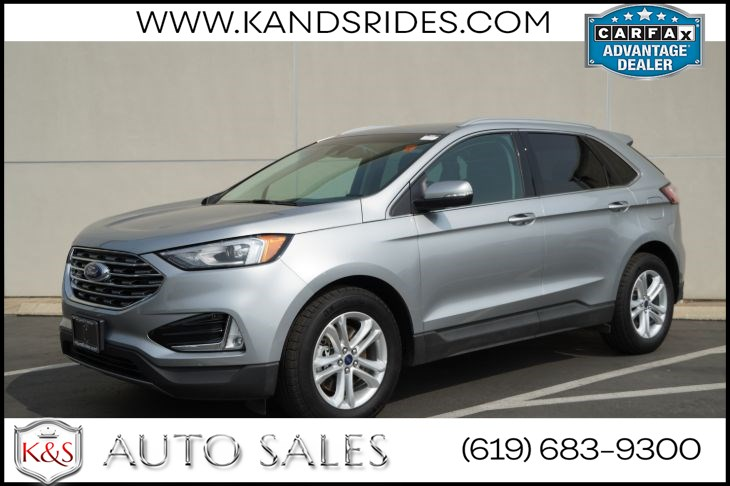2020 Ford Edge SEL BSM Lane Keep Assist Bluetooth SYNC Premium Sound Reverse Sensing Sys LED 1 Owner