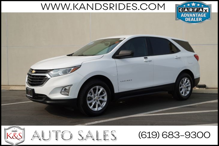 2018 Chevrolet Equinox LS | *One Owner*, Bluetooth, Back-up Cam, Keyless Ignition, Android Auto, Apple CarPlay